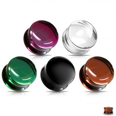 Tunelis iš stiklo - įvairių spalvų