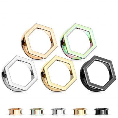 Tunelis šešiakampio formos