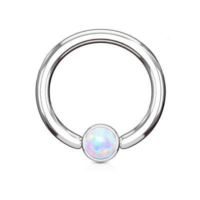 Karolinis žiedas su opalo akmeniu